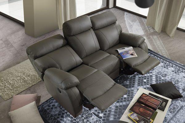 Divano relax grigio