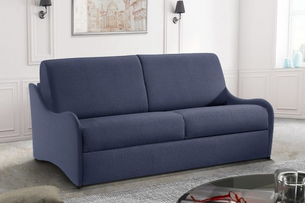 Divano letto blu made in Italy - by Federici Sofà