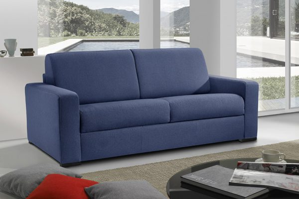 Divano letto blu made in Italy - Lipari
